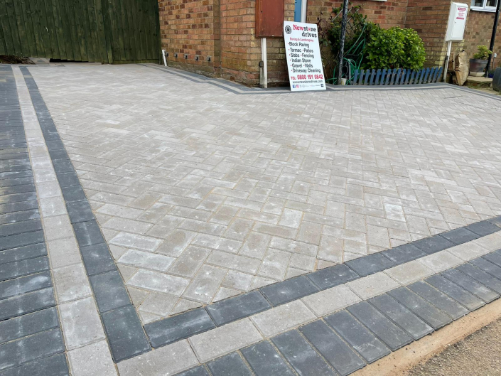 block paving completed in Rugby